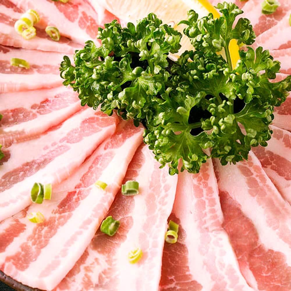 お食事|豚バラネギ塩焼きの画像