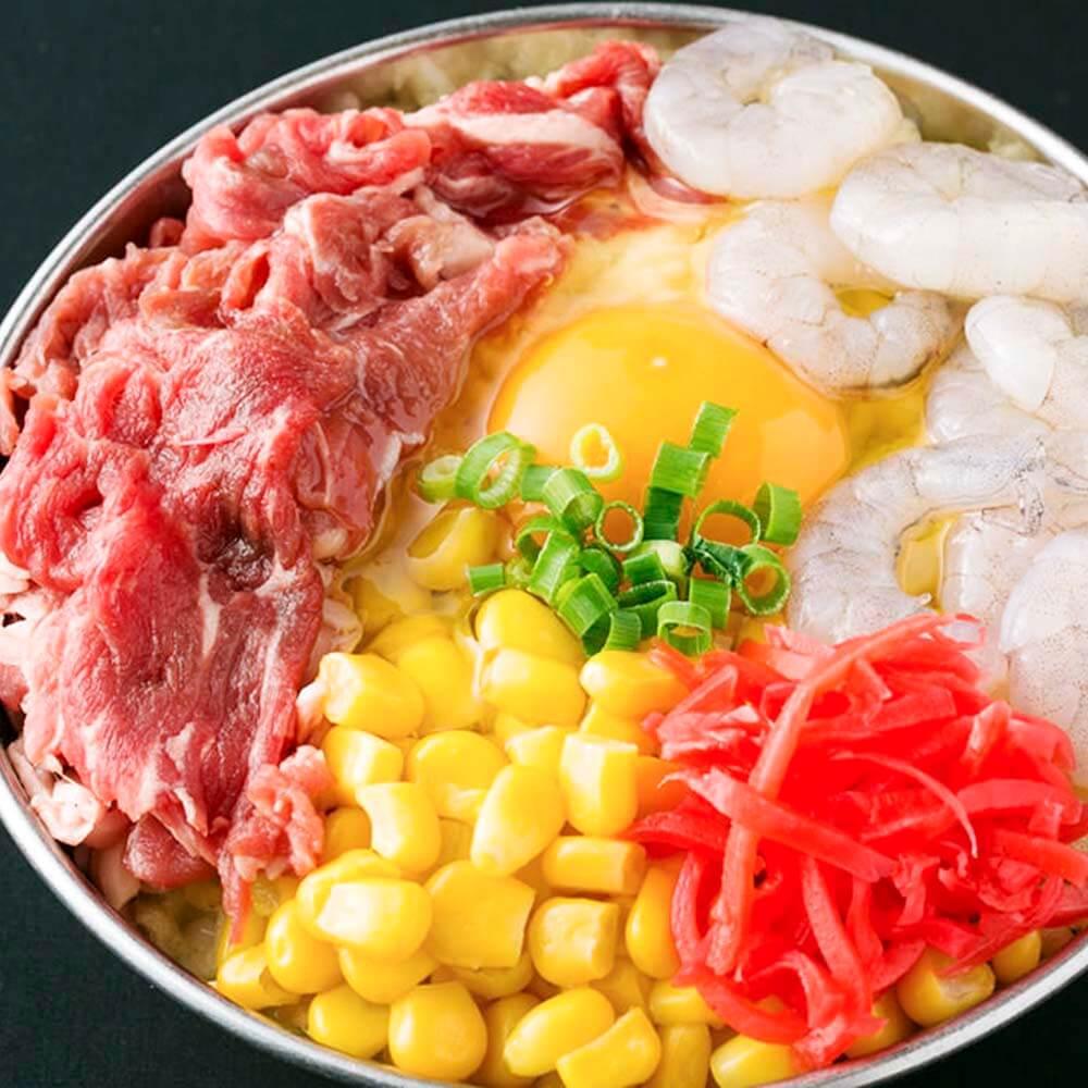 お食事|風月天(牛,エビ,コーン)の画像