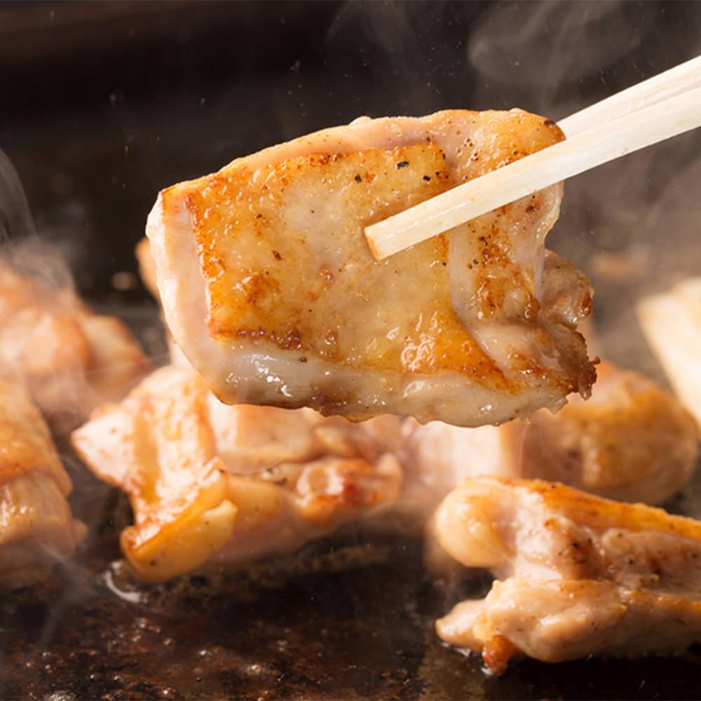 お食事|地鶏塩焼きの画像